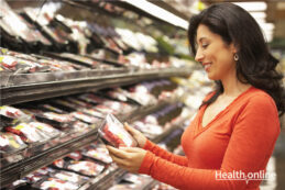 Check label before buying packaged food