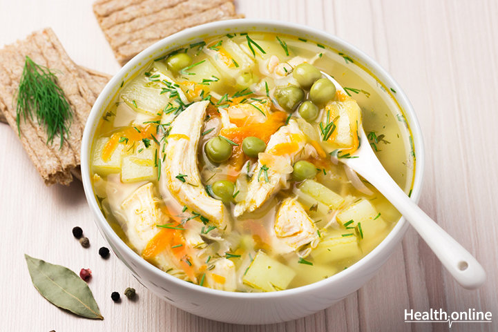 Healthy Chicken and Vegetable Soup
