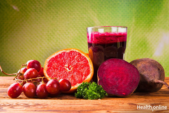 Zesty beetroot juice