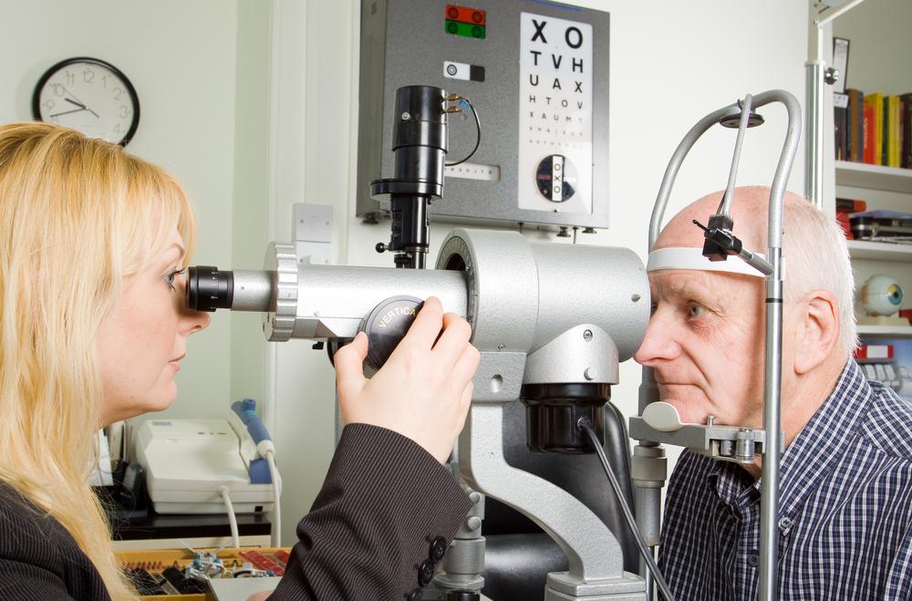 eye checkup after 60s